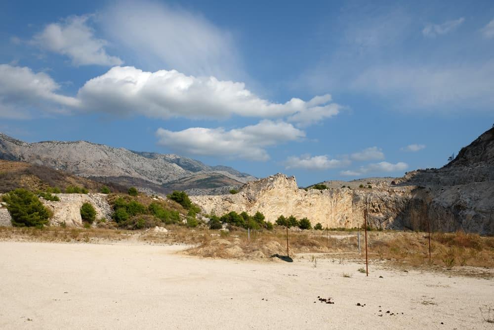 Itinéraire sur les lieux de tournage de Game of Thrones en Croatie - La carrière de Zrnovnica - Meereen ©Etpourtantelletourne.fr