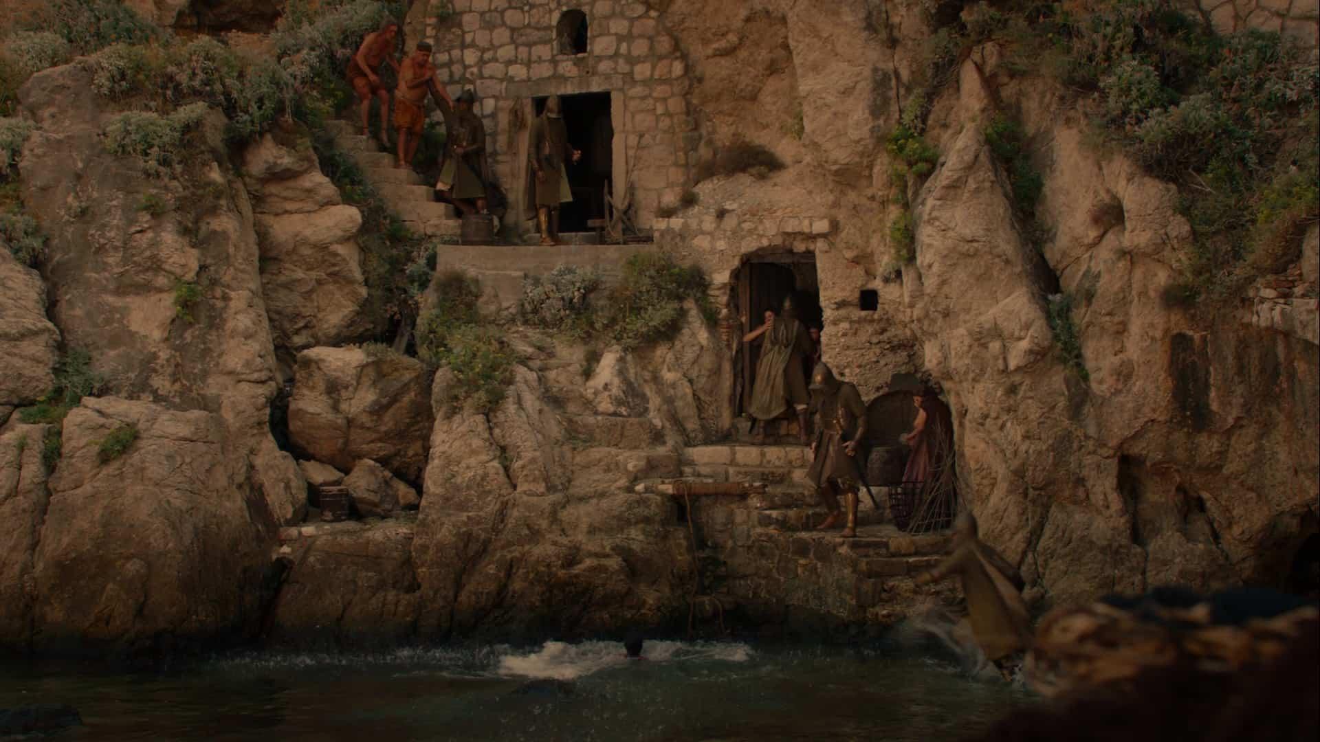 Copie d'écran tirée de la série « Game of thrones » saison 2, épisode 1 / HBO