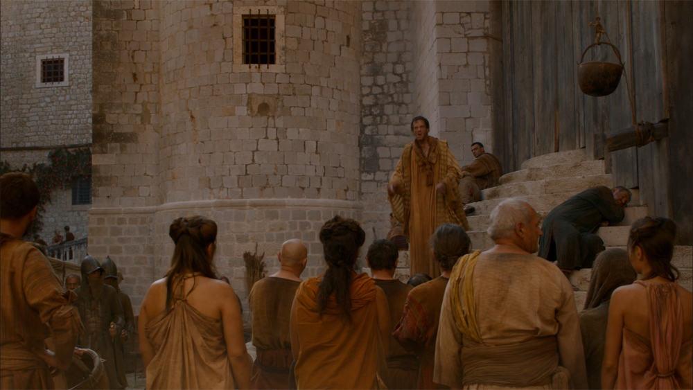 Copie d'écran tirée de la série « Game of Thrones » saison 2, épisode 5 / HBO