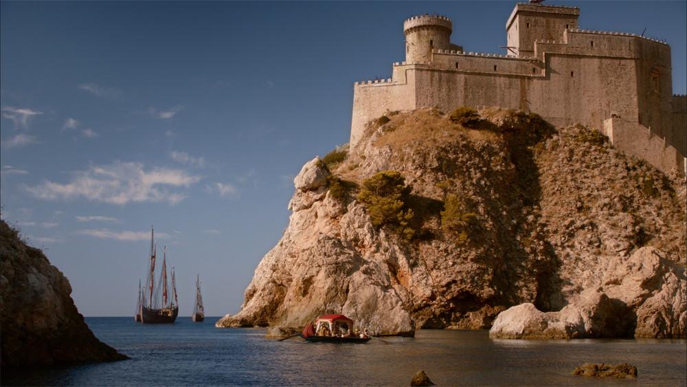 Copie d'écran tirée de la série « Game of Thrones » saison 2, épisode 6 / HBO