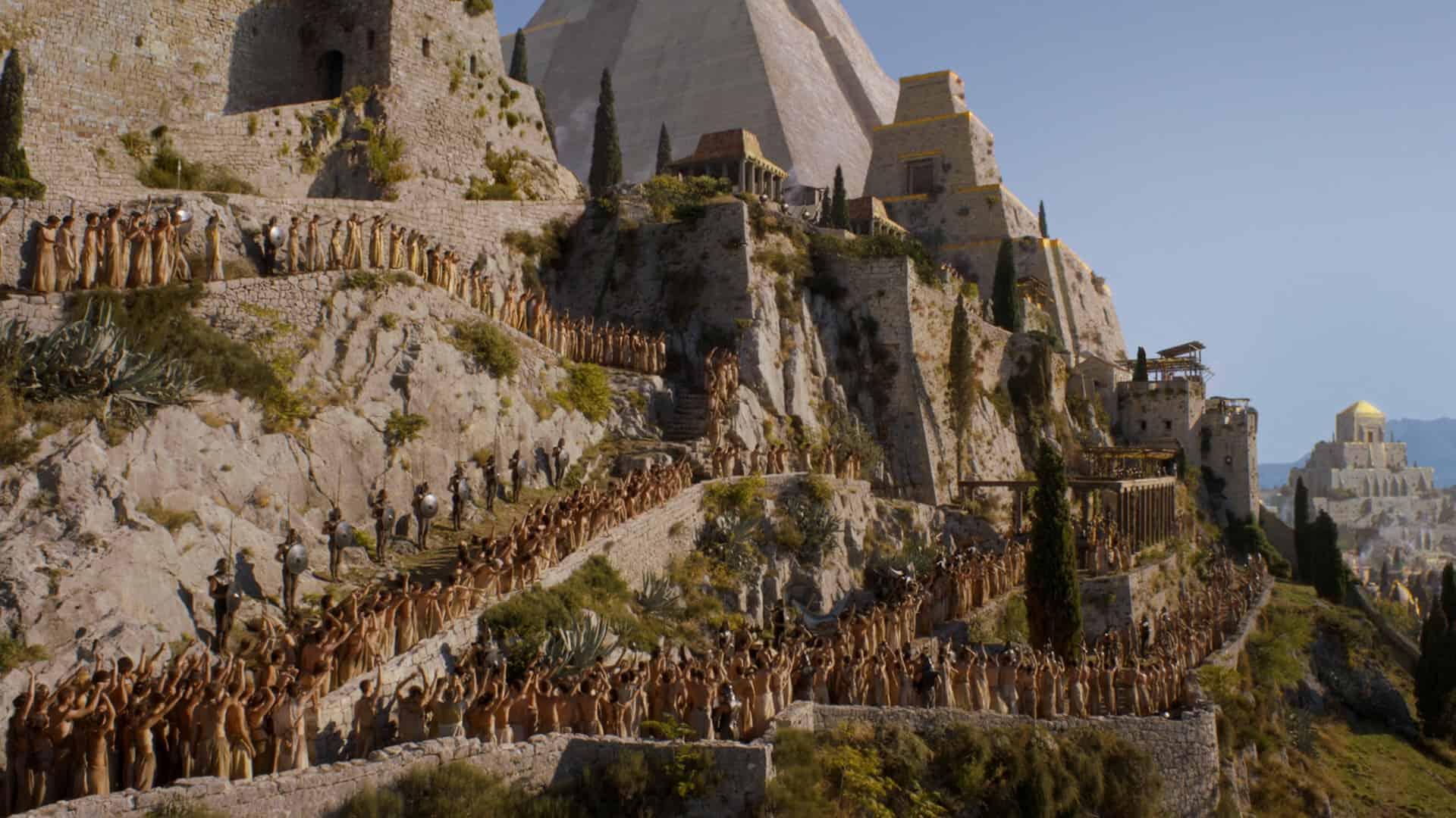 Copie d'écran tirée de la série « Game of Thrones » - saison 5, épisode 4 / HBO