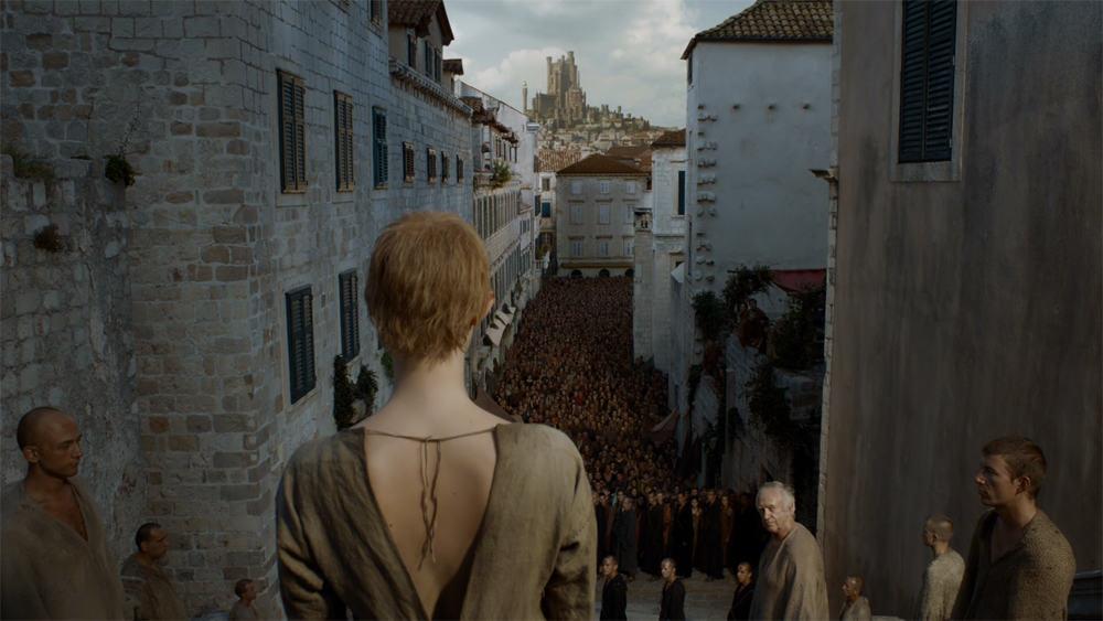 Copie d'écran tirée de la série « Game of Thrones » saison 5, épisode 10 / HBO
