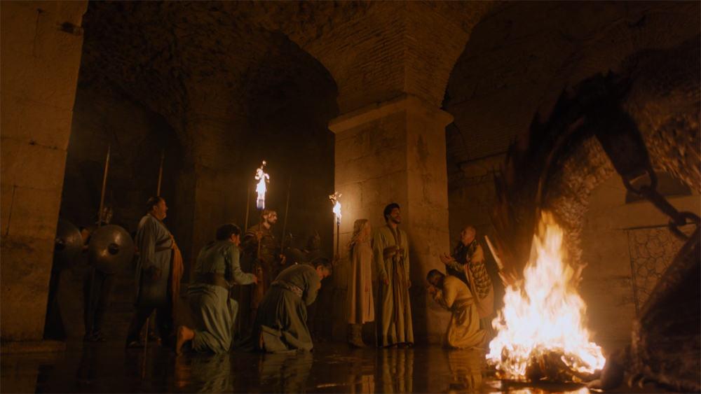 Copie d'écran tirée de la série « Game of Thrones » saison 5, épisode 5 / HBO