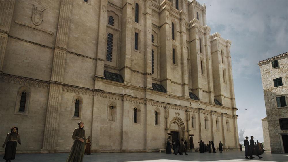 Itinéraire sur les lieux de tournage de Game of Thrones en Croatie - Cathédrale de Sibenik - La Banque de Fer de Braavos ©Etpourtantelletourne.fr