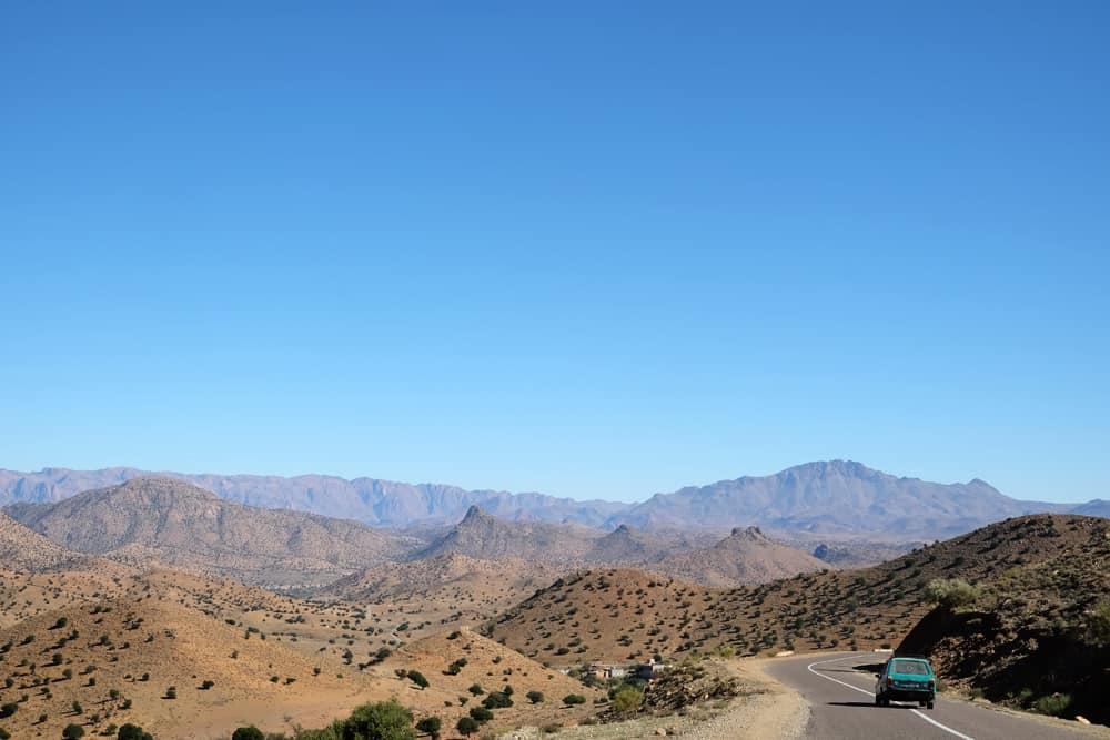 Route de l'Anti-Atlas Maroc ©Etpourtantelletourne.fr