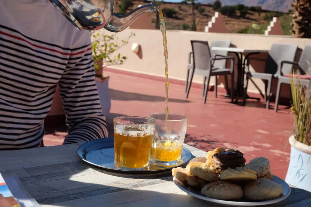 Hôtel à Tafraoute Maroc ©Etpourtantelletourne.fr