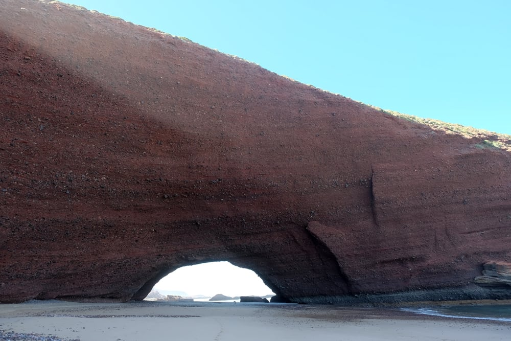 Arches naturelles de Legzira Maroc ©Etpourtantelletourne.fr