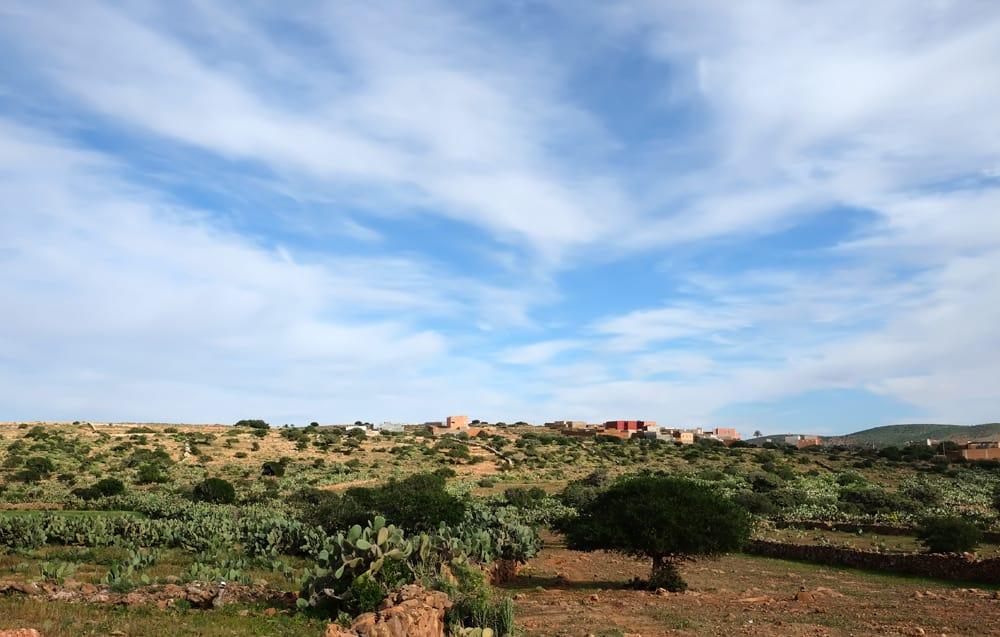 Campagne de Tiznit Maroc ©Etpourtantelletourne.fr