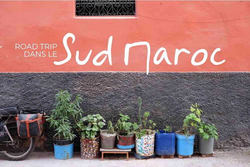 Itinéraire d'un road trip de 4 jours dans le sud du Maroc ©Etpourtantelletourne.fr