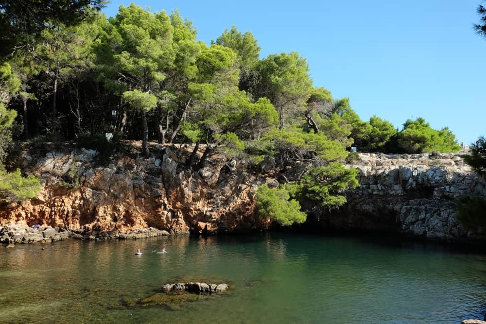 Mer intérieure l'île de Lokrum Dubrovnik ©Etpourtantelletourne.fr