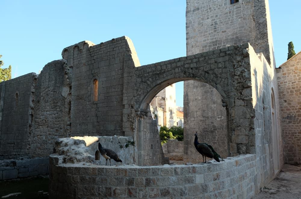 Monastère sur l'île de Lokrum Dubrovnik ©Etpourtantelletourne.fr