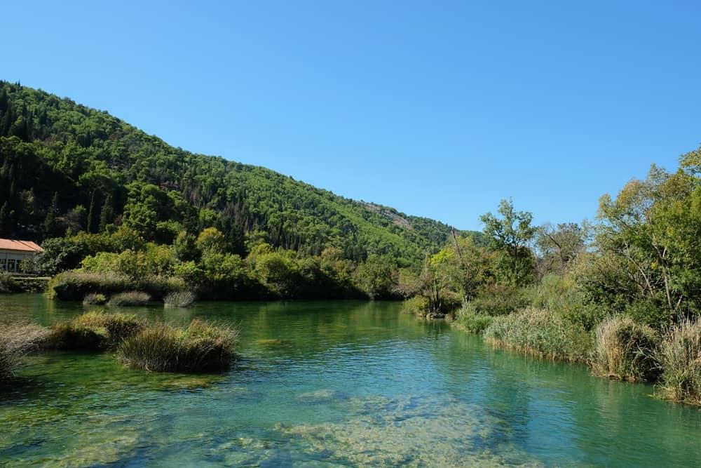 Espaces naturels dans le parc de Krka en Croatie ©Etpourtantelletourne.fr