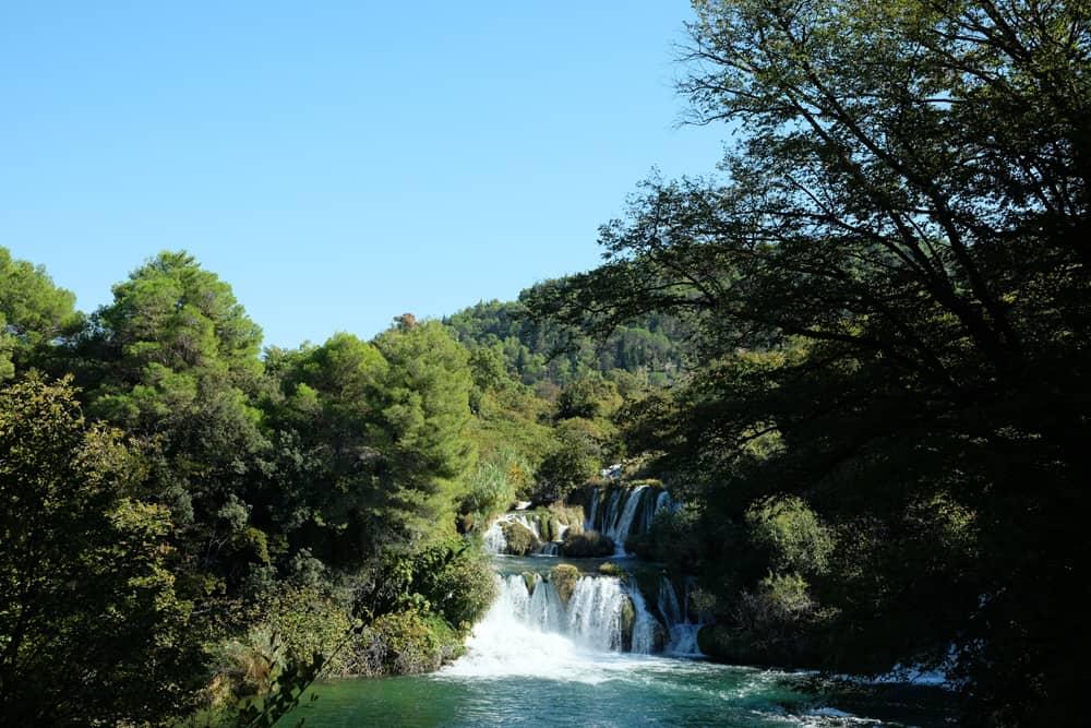 Visiter le parc de Krka en Croatie et ses cascades ©Etpourtantelletourne.fr