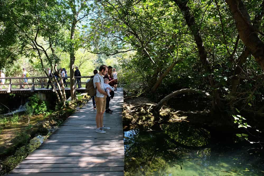 Itinéraires, cartes et randonnées dans le parc de Krka en Croatie ©Etpourtantelletourne.fr