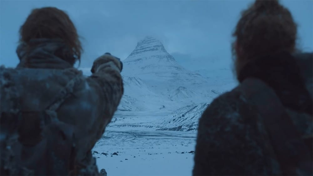 Copie d'écran tirée de la série « Game of Thrones » saison 7, épisode 6 / HBO