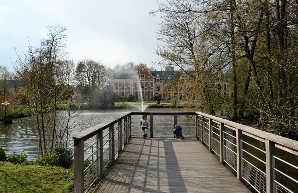 Visite de Lille en famille : le parc du château de Robersart à Wambrechies ©Etpourtantelletourne.fr
