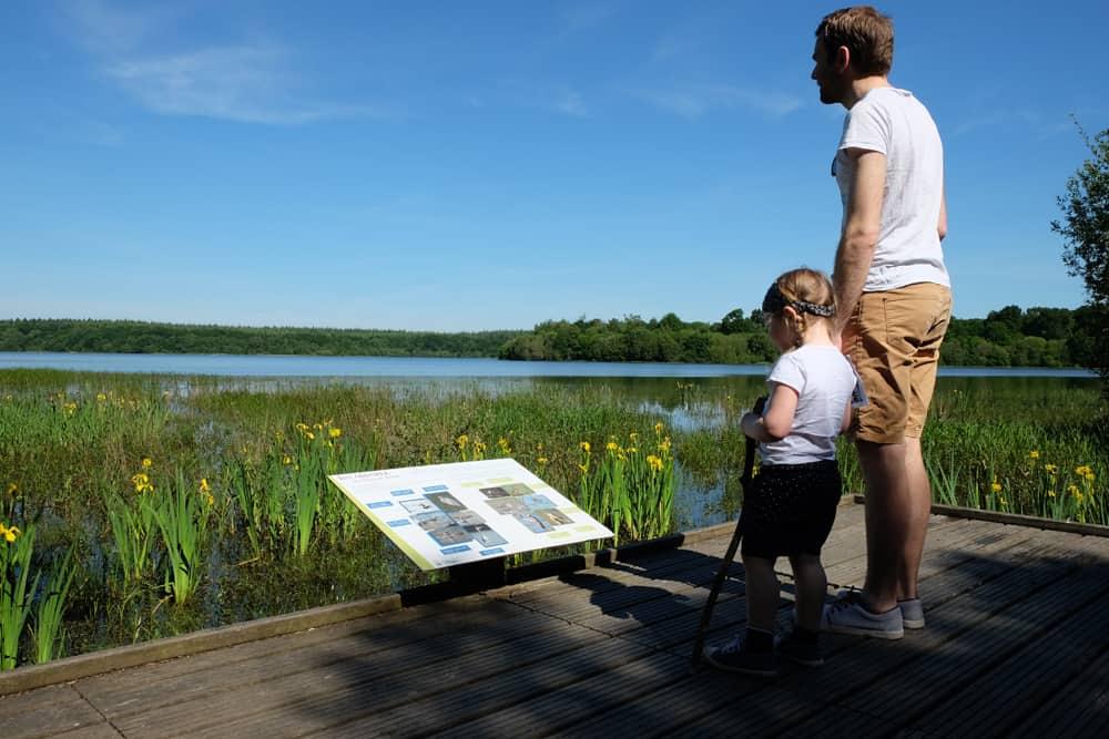 Sentier d'interprétation autour de l'étang de Boulet ©Etpourtantelletourne.fr