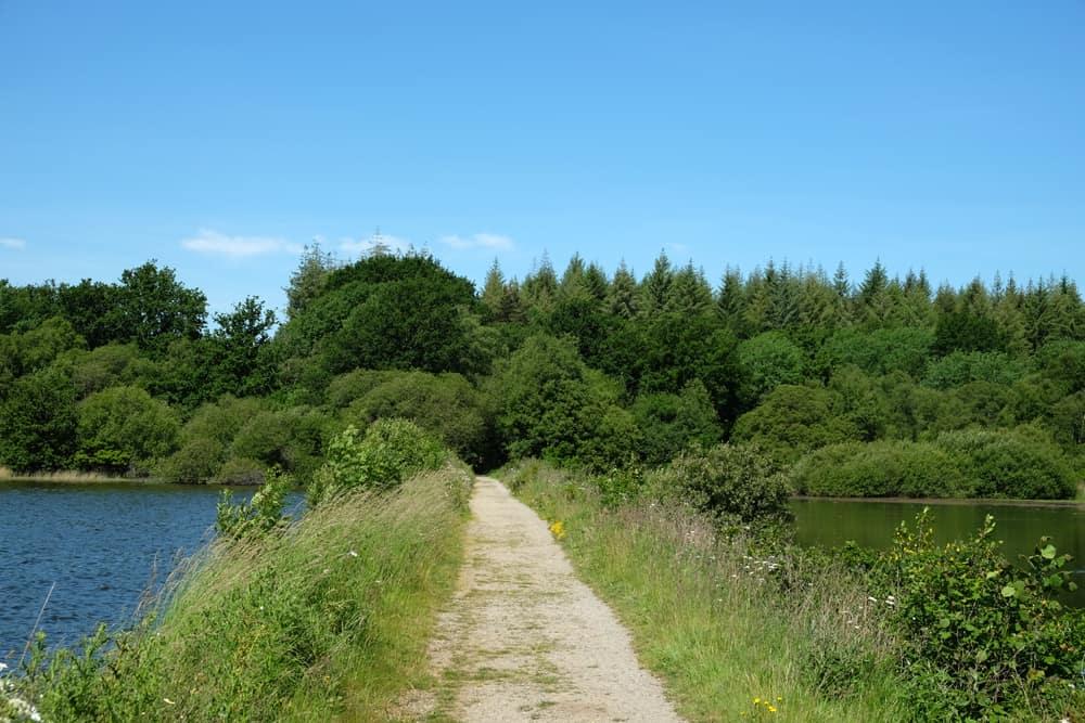 Promenade autour de l'étang de Boulet en Bretagne ©Etpourtantelletourne.fr