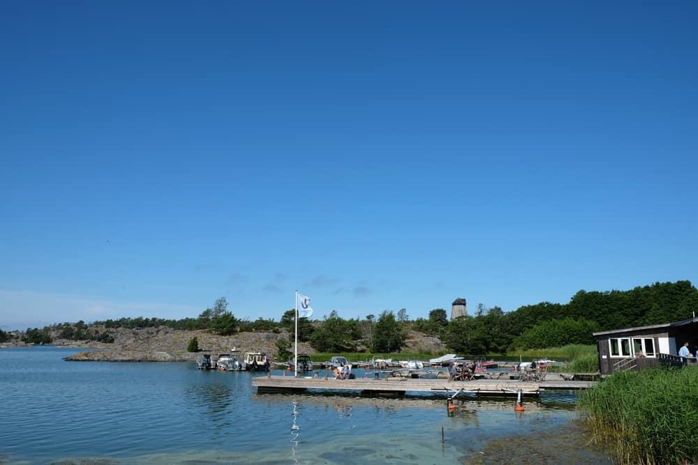 Ankarudden embarcadère Suède // ©etpourtantelletourne.fr