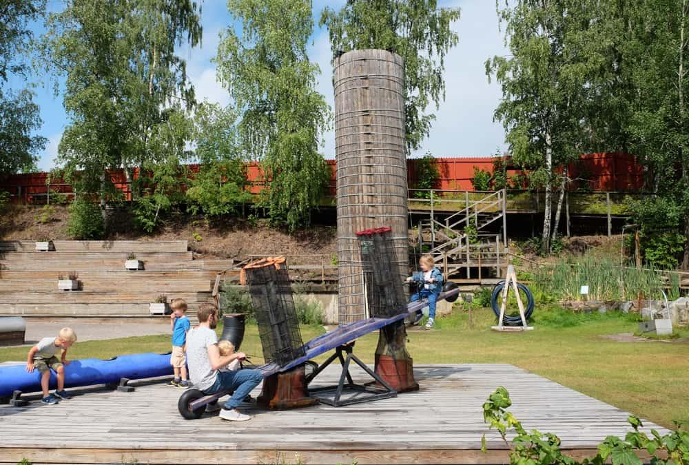 Musée scientifique Tom Tits Experiment Suède // ©etpourtantelletourne.fr