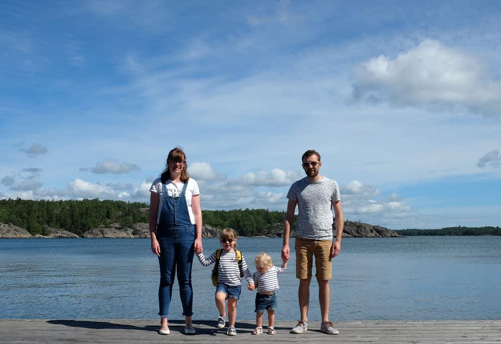 Péninsule sauvage de Lovhagen à Nynäshamn en Suède // ©etpourtantelletourne.fr
