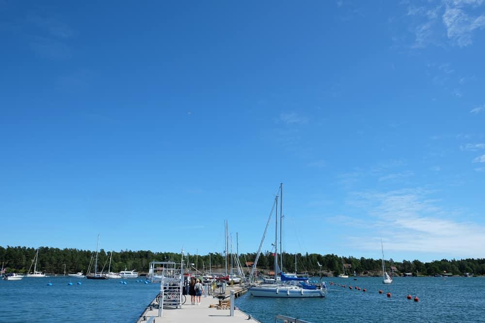 Port de Nynäshamn Suède // ©etpourtantelletourne.fr