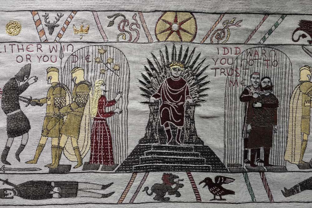 Exposition de la Tapisserie Game of Thrones à Bayeux ©Etpourtantelletourne.fr