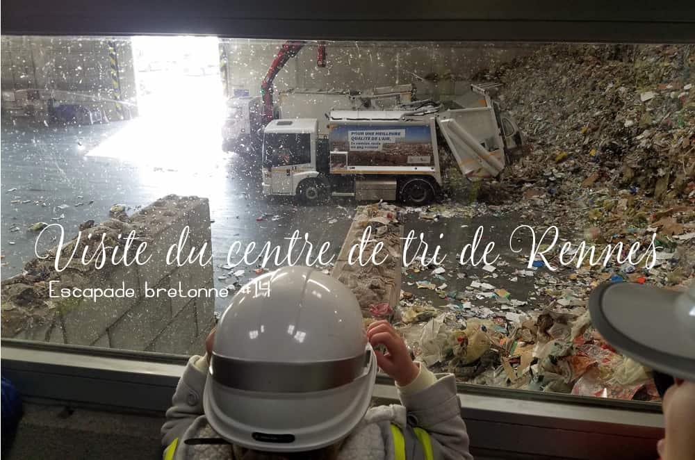 Visite gratuite du centre de tri de Rennes Métropole en famille