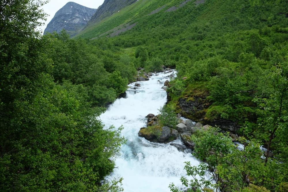 Randonnée à Geiranger : la cascade de Storseterfossen  ©Etpourtantelletourne.fr