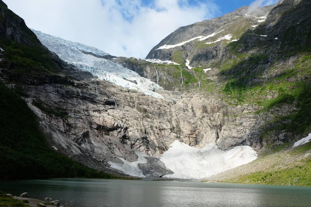 Le glacier de Bøyabreen en Norvège ©Etpourtantelletourne.fr