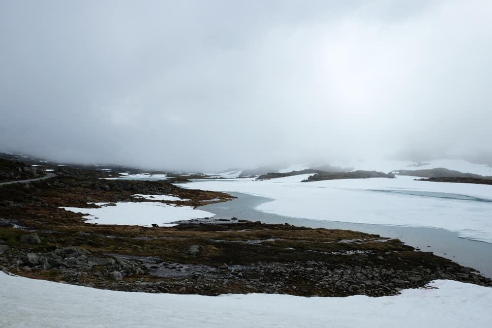 La route panoramique de Gamle Strynefjellsvegen (route 15) en Norvège ©Etpourtantelletourne.fr