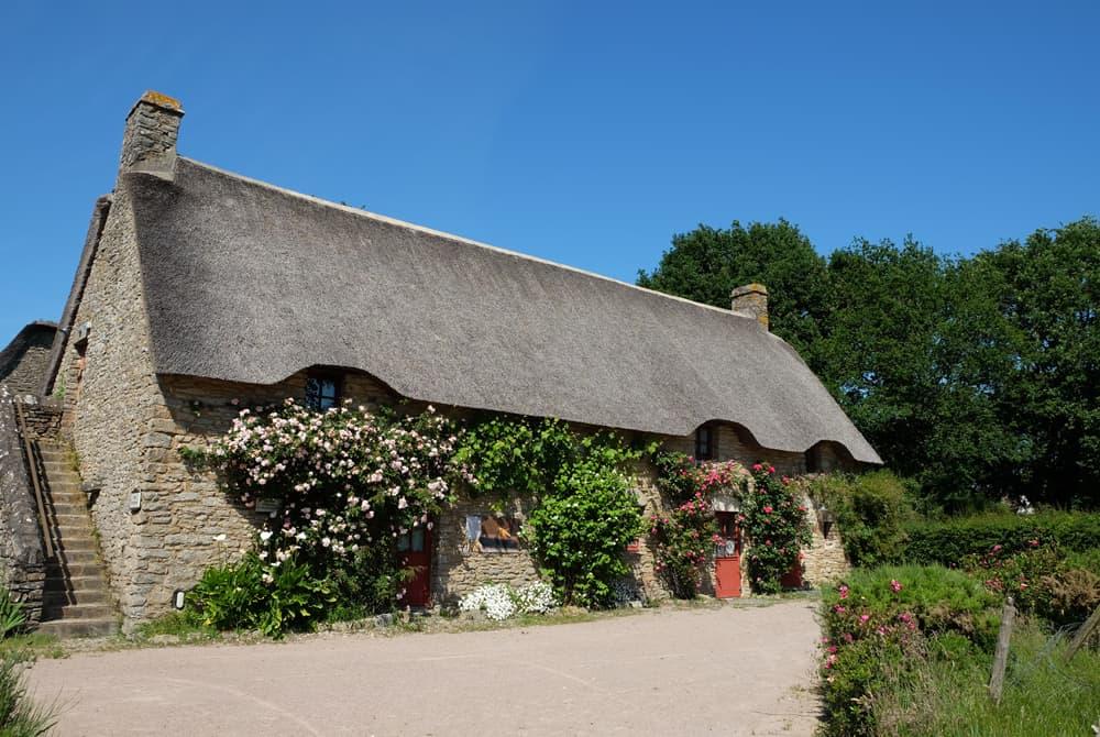 Randonnée en Brière : le village de Kerhinet ©Etpourtantelletourne.fr