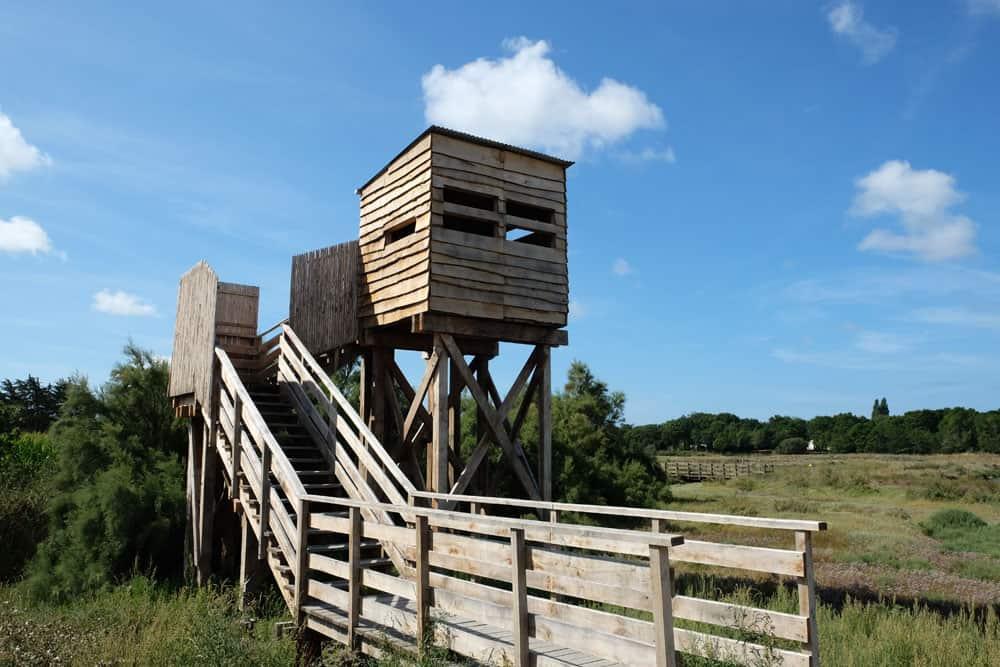 Observatoire ornithologique à Mesquer (lieu dit Kervarin) ©Etpourtantelletourne.fr