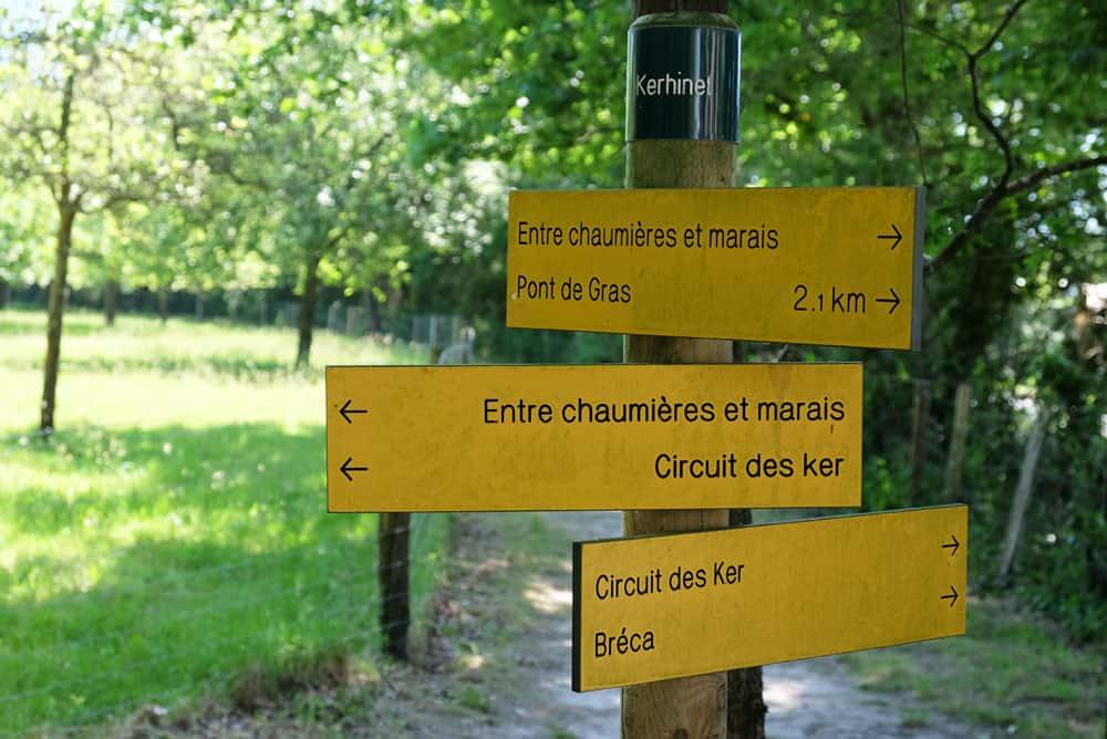 Randonnées au départ du village de Kerhinet ©Etpourtantelletourne.fr