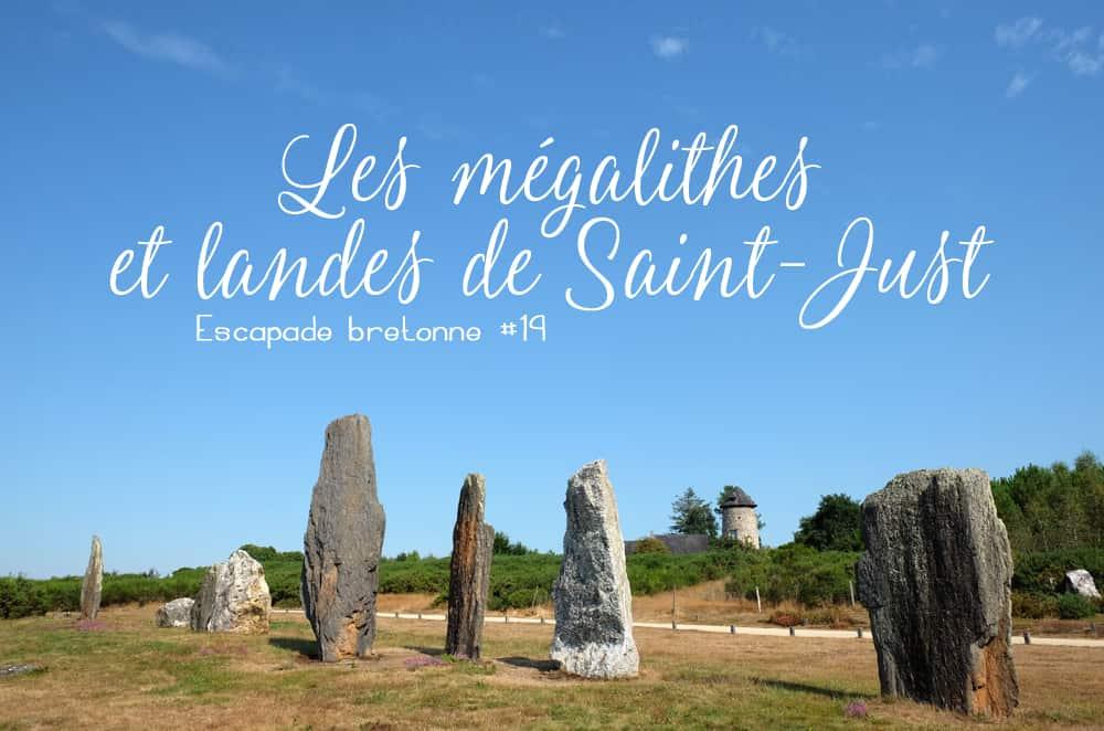 Visite en famille sur le site mégalithique de Saint-Just en Bretagne ©etpourtantelletourne.fr