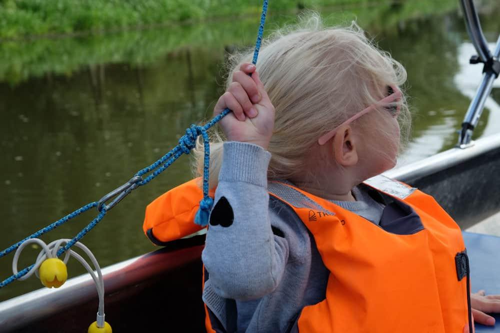 Promenade en bateau à Rennes avec des enfants ©etpourtantelletourne.fr