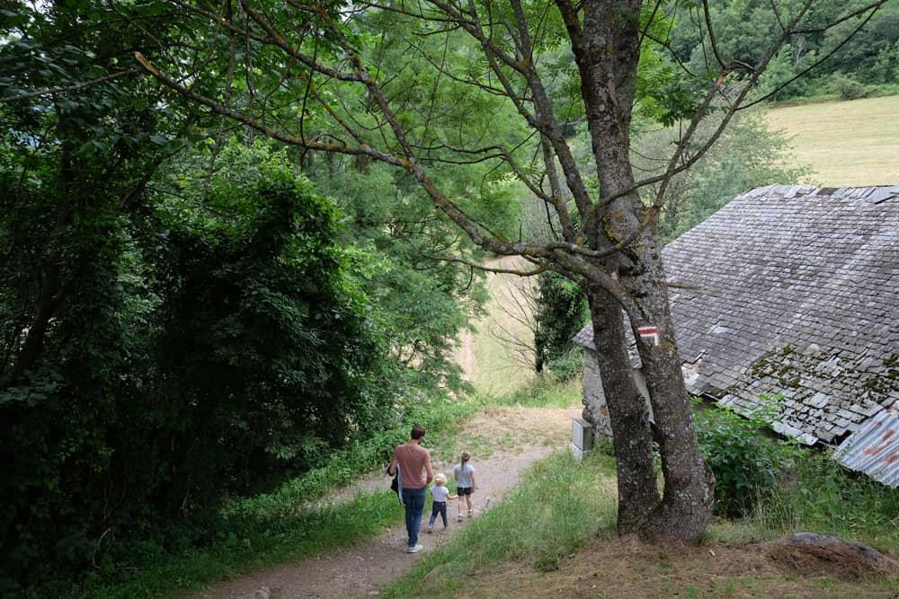 Balade à Luz-Saint-Sauveur - château Sainte-Marie - Hautes-Pyrénées ©etpourtantelletourne.fr